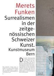 Kunstmuseum Bern Merets Funken. Surrealismus in der ...