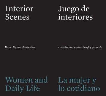 Juego de interiores. La mujer y lo cotidiano - Museo Thyssen ...