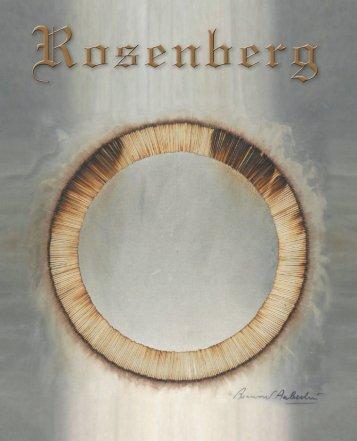 Catalogo - Galleria Rosenberg