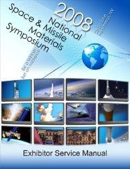 2008 NSMMS Exhibitor Services Kit