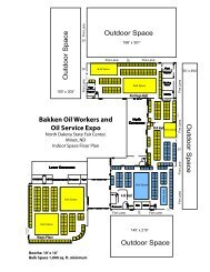 Bakken Oil Workers and Oil Service Expo