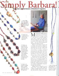 Simply Barbara: Knotted Necklaces - Diane Fitzgerald