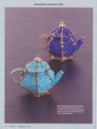 Bead & Button, December, 2008 - Diane Fitzgerald