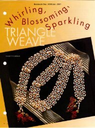 Beadwork Dec. 2000/Jan. 2001 - Diane Fitzgerald