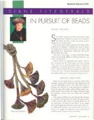 Beadwork May/June 2000 - Diane Fitzgerald