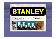 Презентация продукции Stanley