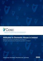 Attitudes to Domestic Abuse in Ireland 2008 - Cosc