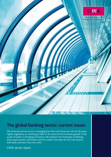The global banking sector: current issues - CIMA