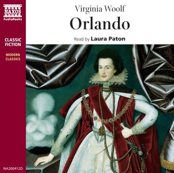 Orlando Booklet - Naxos Spoken Word Library