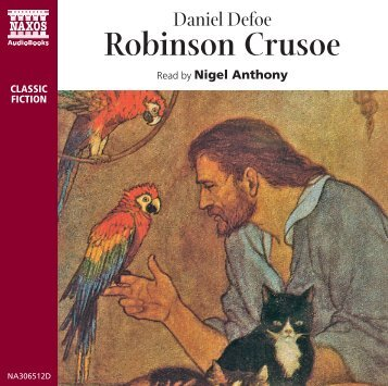 Robinson Crusoe Booklet - Naxos Spoken Word Library
