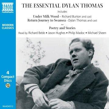 Dylan Thomas CD Booklet - Naxos Spoken Word Library