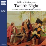 Twelfth Night Booklet - Naxos Spoken Word Library