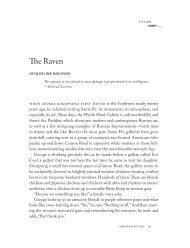 Jacqueline Kolosov - Cimarron Review