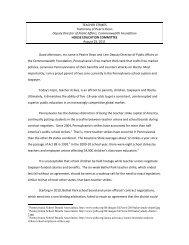 the teacher strike capital of America - Commonwealth Foundation