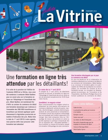 La Vitrine vol. 7, no 1 - Détail Québec