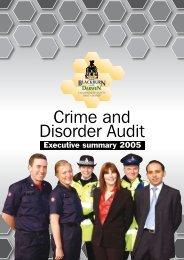 Crime and Disorder Audit - Safer Lancashire