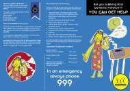 Domestic Violence - Safer Lancashire