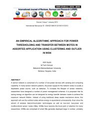 an empirical algorithmic approach for power thresholding and ...