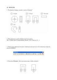 """4.1. BLOCZEK 1. Wczytujemy istniejący rysunek o nazwie """"Elementy ..."""