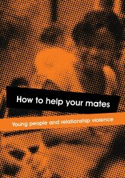 DV - How to Help Your Mates - Domestic Violence | London