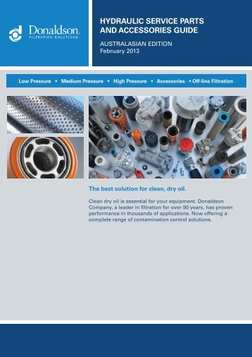 hydraulic service parts and accessories guide - odms.net.au