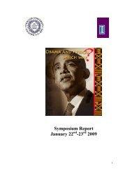 Symposium Report - Center for African Studies - University of Illinois ...
