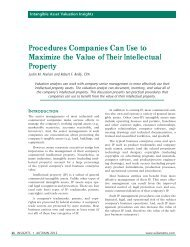 Procedures Companies Can Use to Maximize the Value of Their ...