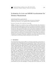 Evaluation of a Low-cost MEMS Accelerometer for Distance ...