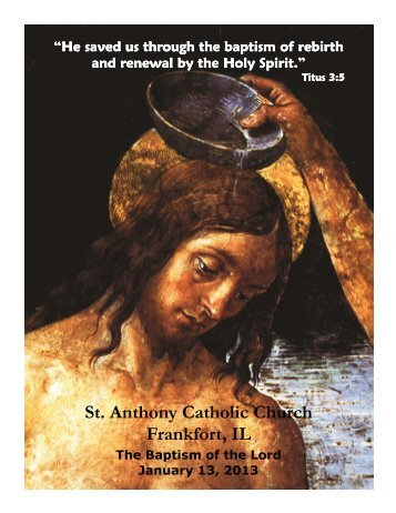 St. Anthony Catholic Church Frankfort, IL