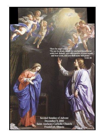 Second Sunday of Advent Second Sunday of Advent December 5 ...