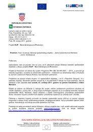 Page 1 Projekt implementira Istarska županija OVAJ DOPIS ...