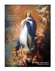 Sunday, August 15, 2010 Sunday, August 15, 2010 - St. Anthony ...