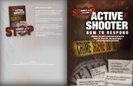 Guidance on how to respond to an active shooter