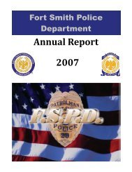 View Report - Fort Smith Police Department