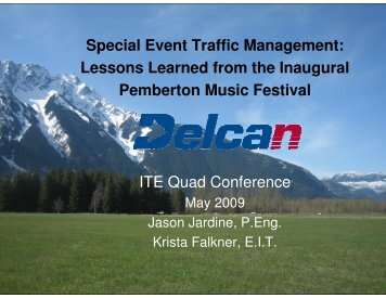 Special Event Traffic Management - Citevancouver.org