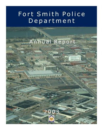 2003 Annual Report - Fort Smith Police Department