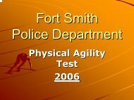 4 min. 30 sec. - Fort Smith Police Department