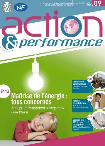 Action&Perform; essai1 - Marque NF