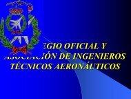 colegio oficial y asociación de ingenieros técnicos aeronáuticos