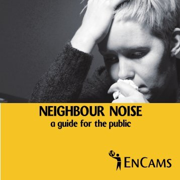 NEIGHBOUR NOISE - Keep Britain Tidy