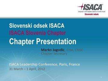 Slovenia Chapter(1) - ISACA