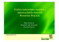 (Microsoft PowerPoint - Teti\350kovi\350 - seminarska ... - ISACA