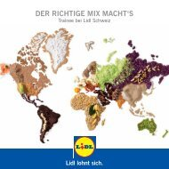 Trainee bei Lidl Schweiz (PDF) - Absolventenkongress