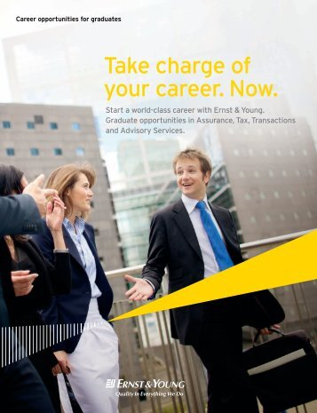 Recruitment brochure - Ernst & Young