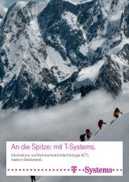 Broschüre Firmenportrait (PDF) - Staufenbiel.ch
