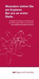 Praktikantenprogramm - Staufenbiel.ch