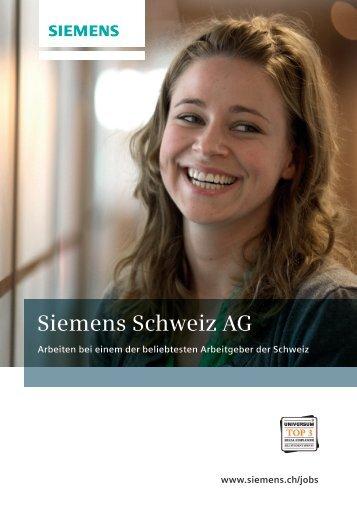 Siemens Schweiz AG - Absolventenkongress