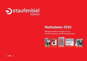 Mediadaten 2010 - Staufenbiel.ch