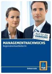 MANAGEMENTNACHWUCHS - Staufenbiel.ch