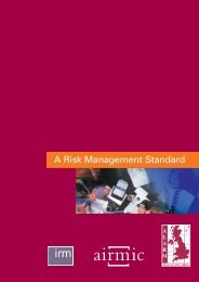 A Risk Management Standard